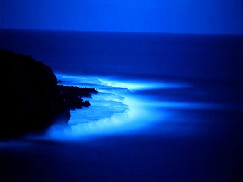 Que significa soñar en color azul